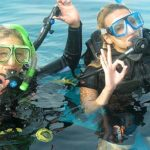 Учимся погружаться в море
