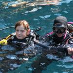 Практическое занятие по курсу PADI Junior Open Water Diver