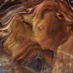 Красота камней цветного каньона