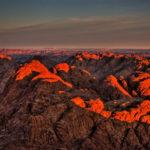 Гора Синай на заходе солнца