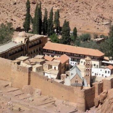 Подъем на гору Синай и монастырь Святой Екатерины