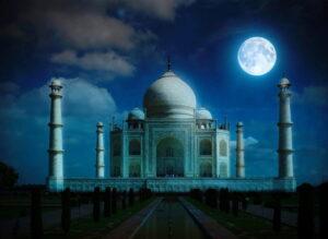Тадж-Махал ночью