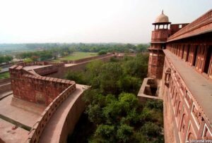Двойная стена в Красном форте