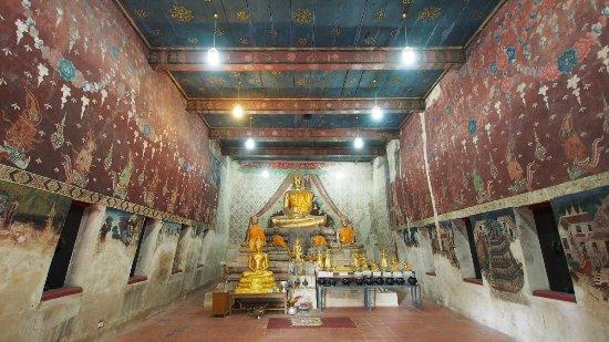 Храм Ват Ратчабурана, нижний зал