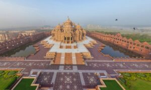 Храм Акшардхам в Нью-Дели