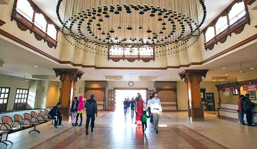 Акшардхам в Нью-Дели. Центр посетителей