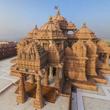 Храм Акшардхам в Нью-Дели: сочетание современности и истории