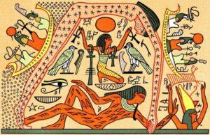 Представление о дне и ночи у древних египтян