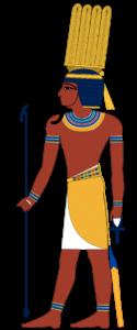 Шу - бог ветра в Древнем Египте