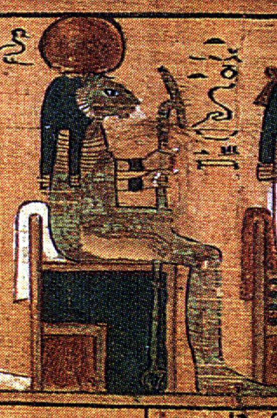 Тефнут - богиня влаги в Древнем Египте