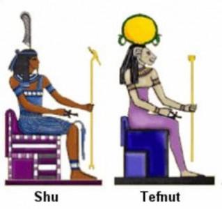 Боги Древнего Египта: Шу и Тефнут