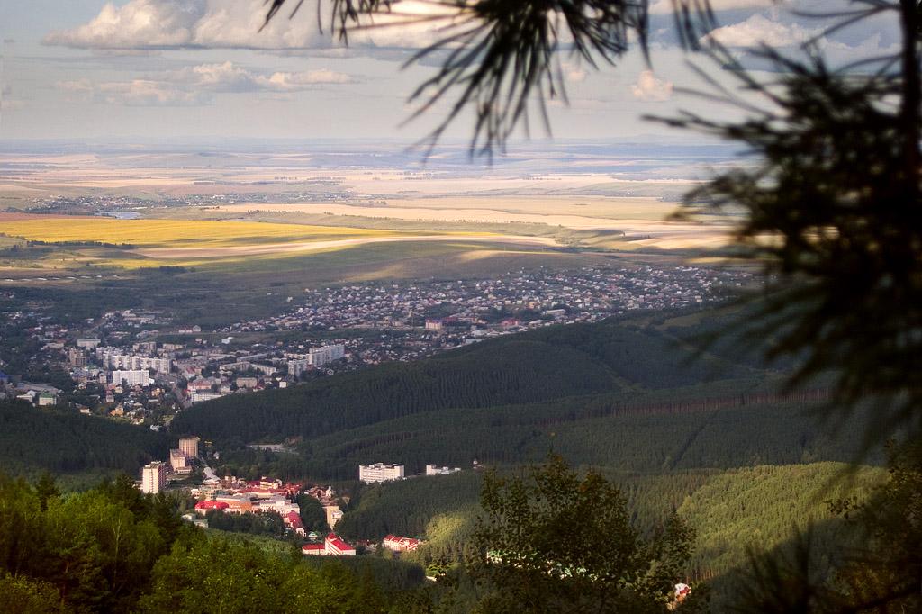 Белокуриха. Вид с горы Церковка